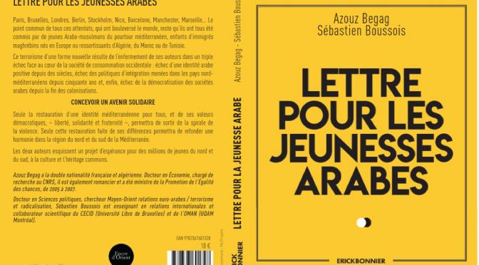 LETTRE POUR LES JEUNESSES ARABES A PARAITRE (16 MAI 2018)
