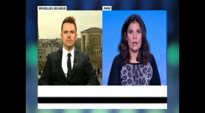 France 24, 27 octobre 2015 sur la situation en Israël