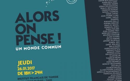 Rendez vous à la Nuit des Idées à l'Institut Français de Tunis 26 janvier 2017